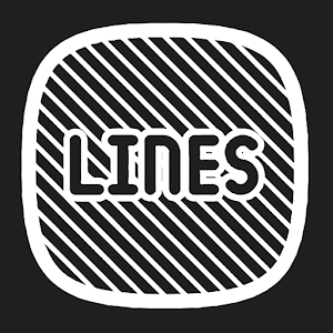 Lines Squircle - White Icon Pack Giveaway