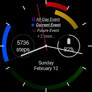 First - a Calendar Watchface Giveaway